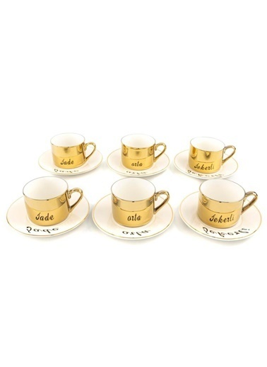 Mikasa Moor Merry Gold 6Lı Kahve Fincanı Seti Renkli